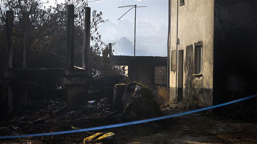 A tragédia maior foi em Vila Nova, onde viviam quatro das cinco vítimas mortais do concelho