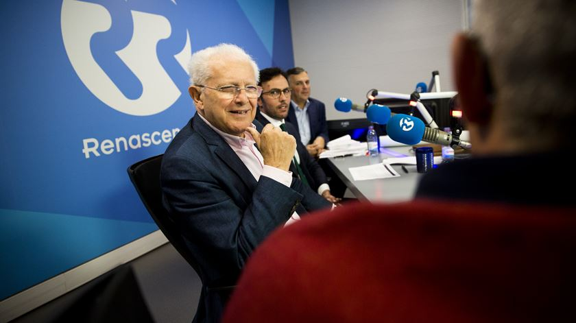 António Monteiro Fernandes, professor universitário e antigo secretário de Estado do Trabalho. Foto: Joana Bourgard/RR