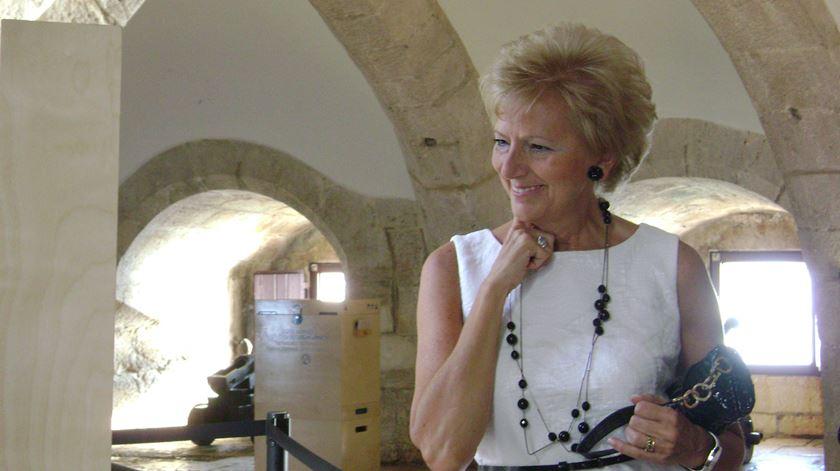 Isabel Cruz Almeida deixa a Torre de Belém e os Jerónimos ao fim de 35 anos. Foto: DR