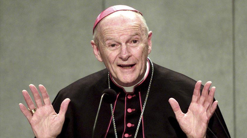 O ex-cardeal McCarrick, acusado de abusos sexuais e reduzido ao estado laical. Foto: Danilo Schiavella/EPA