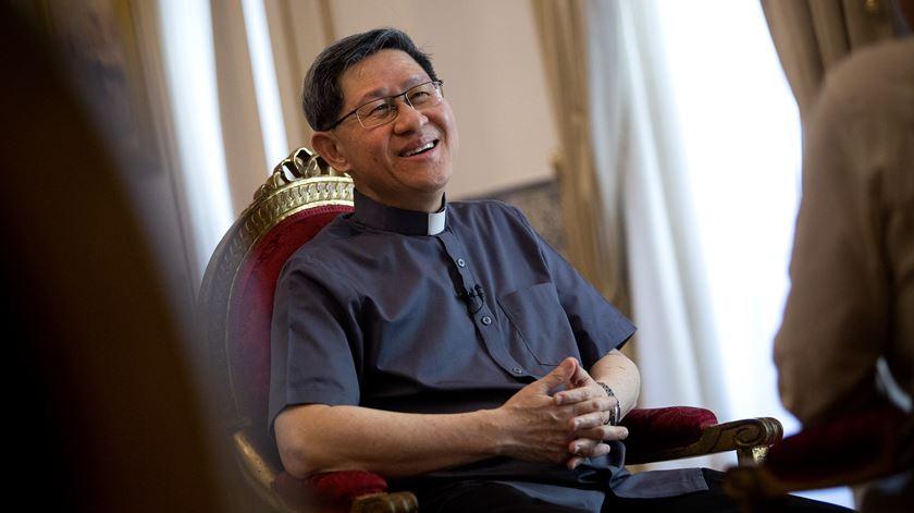 Cardeal Luis Antonio Tagle. Foto: Joana Bourgard/RR