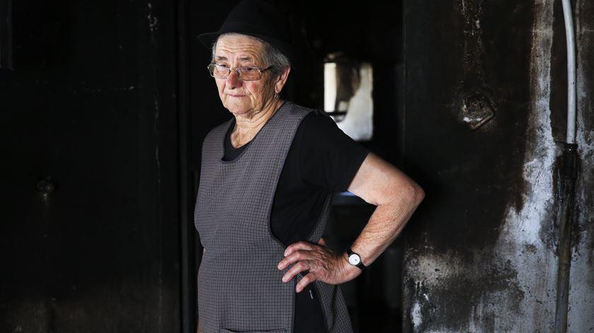 A casa de Rosalina foi uma das 122 que ficaram totalmente ou parcialmente destruídas em Pedrógão Grande, num total de 169 primeiras habitações nos três concelhos afectados