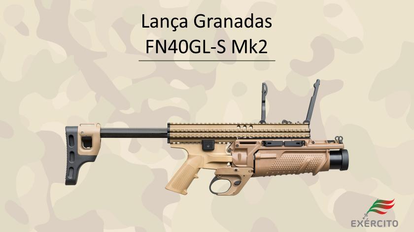 Lança Granadas FN40GL-S Mk2. Imagem: Exército Português