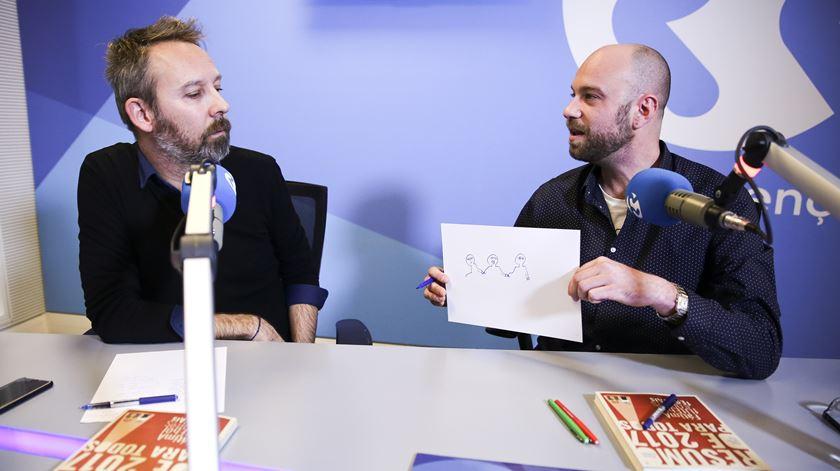Miguel Somsen e Hugo van der Ding - Conversa com Ana Galvão - 27/12/2017