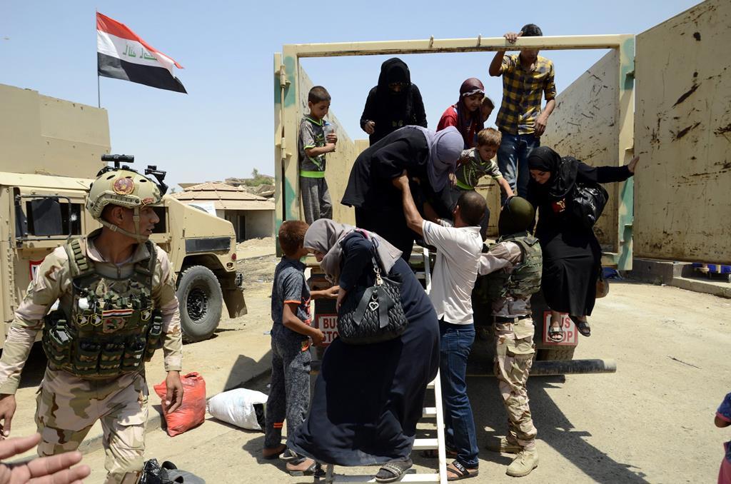 O Iraque procura uma nova era de paz depois de anos de conflito. Foto: Omar Alhayali