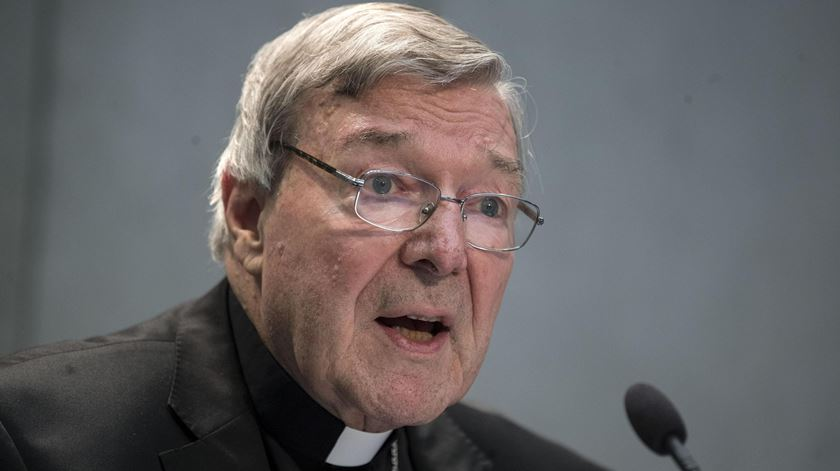 "George Pell. Investigação de abuso sexual é um ""implacável assassinato de carácter"""