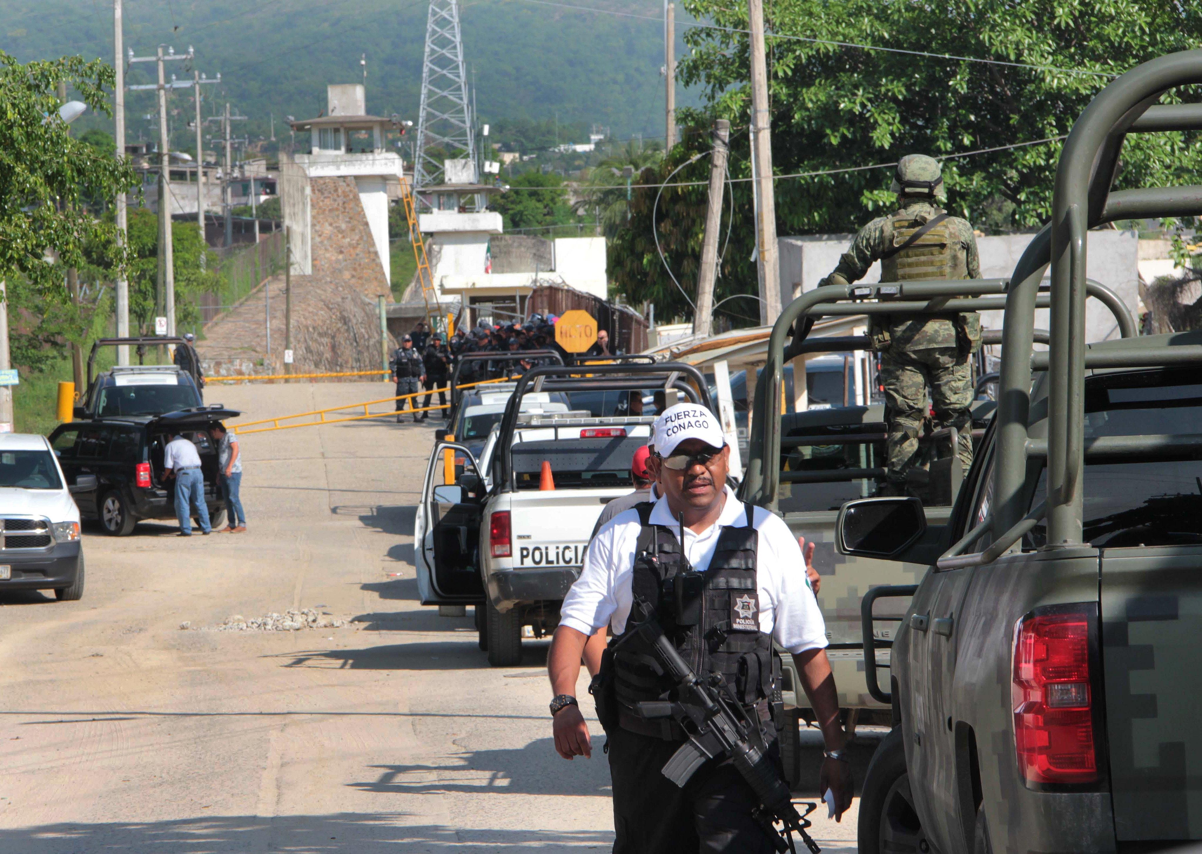28 mortos num confronto em prisão de Acapulco