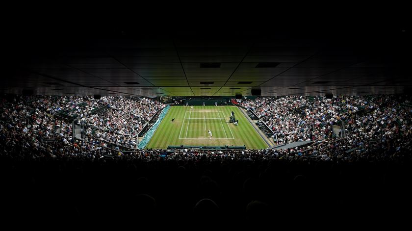 Wimbledon está em obras. Há dois engenheiros portugueses no projecto