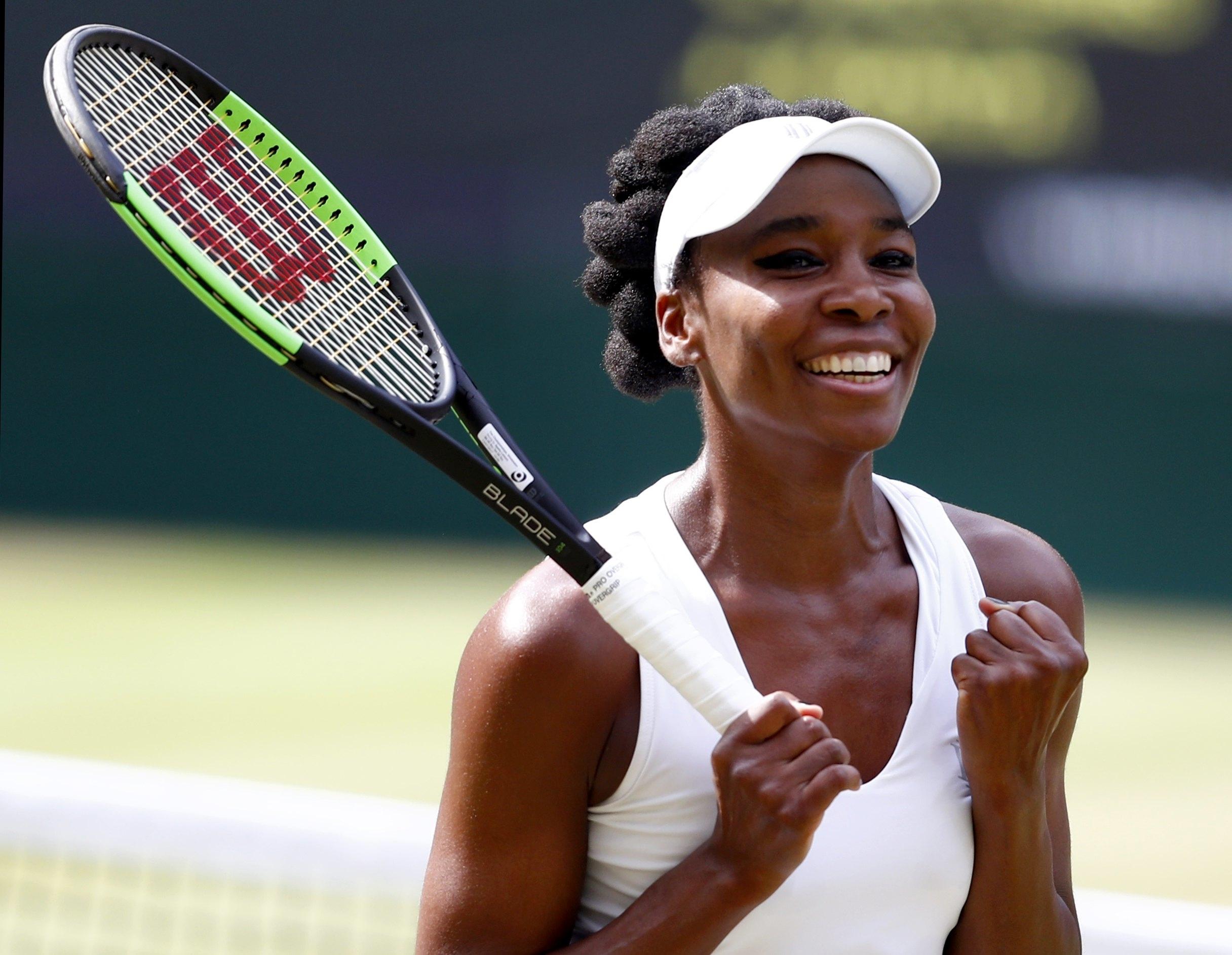 Venus e Muguruza fazem final histórica em Wimbledon