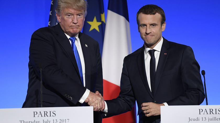 """Trump diz que """"algo pode acontecer"""" sobre o acordo de Paris"""