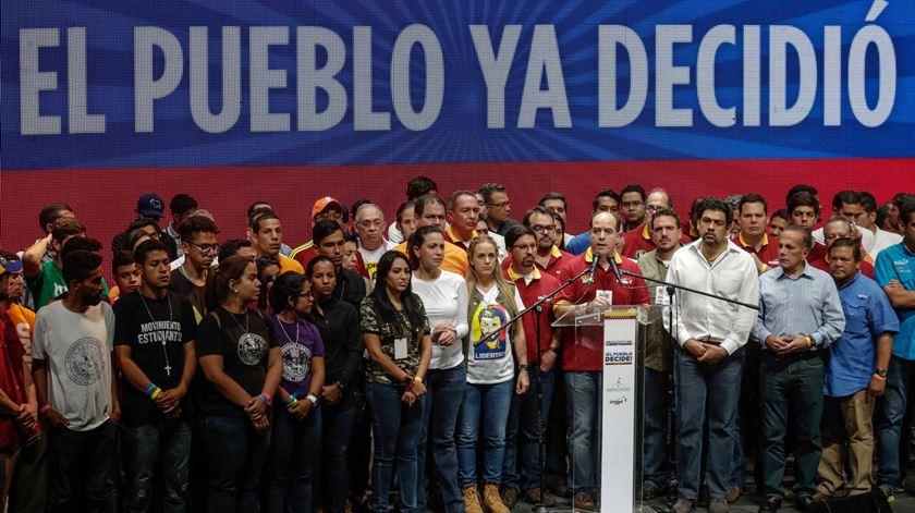 Oposição venezuelana vence Prémio Sakharov 2017