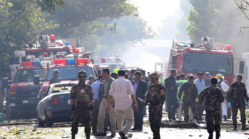 Afeganistão. Ataque suicida faz 35 mortos e 40 feridos em Cabul