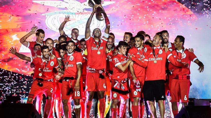 Benfica entre os 10 melhores da Europa