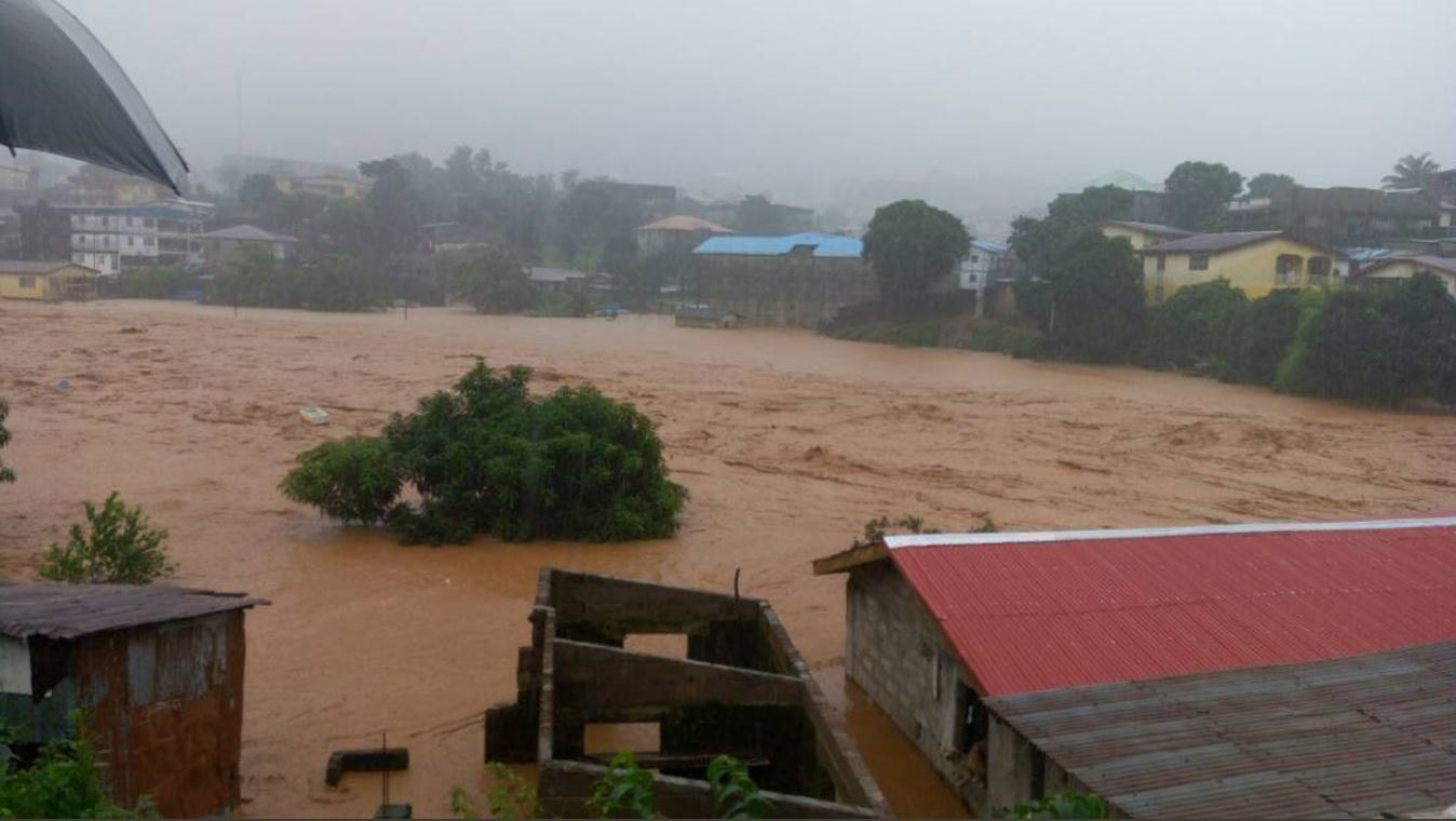 Deslizamento em Serra Leoa deixa