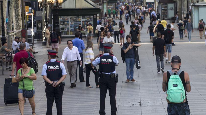 Catalunha. CIA avisou em Maio para possível ataque nas Ramblas