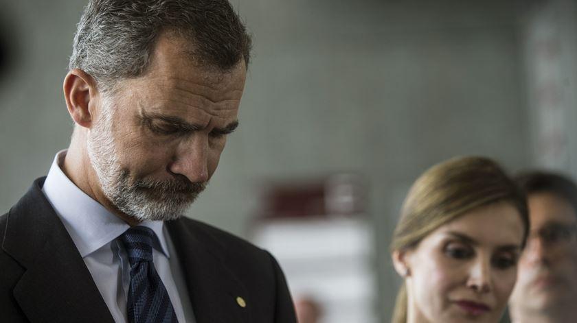 """Reis de Espanha enviam """"apoio e carinho sinceros"""" à  família das vítimas portuguesas"""