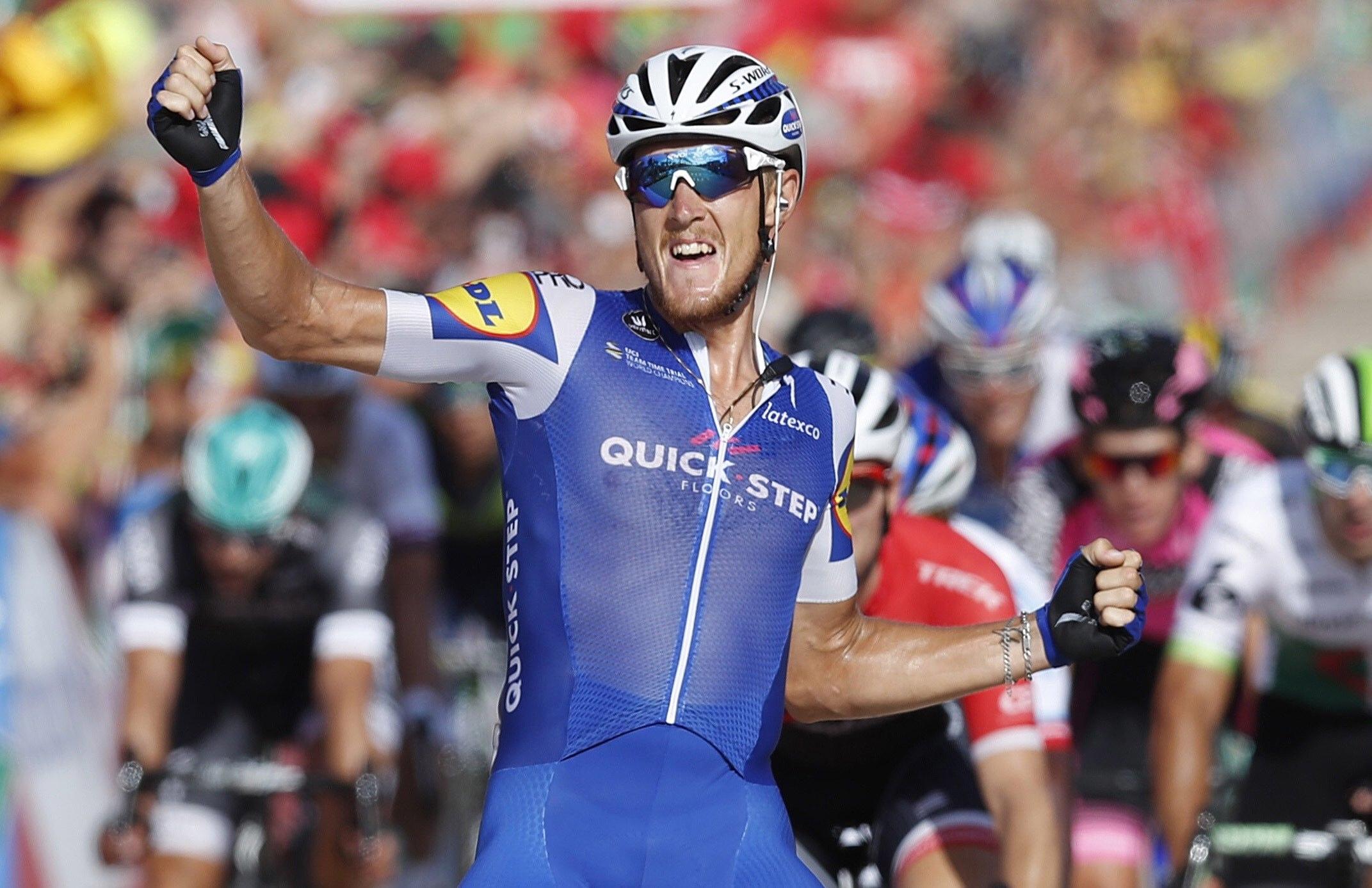 Vuelta: Trentin vence primeira chegada em Espanha
