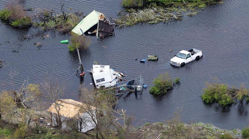 Papa recorda vítimas de furacão Harvey, nos Estados Unidos