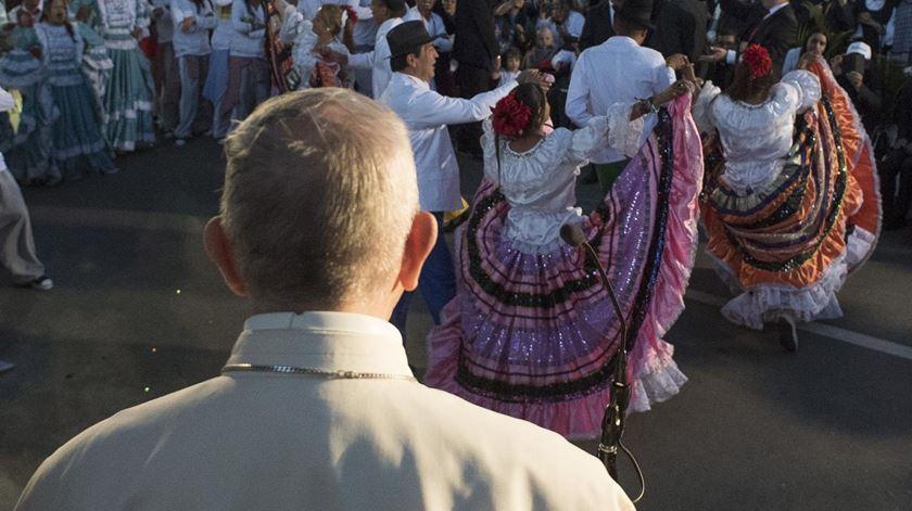 """Papa aos colombianos: """"Não deixem que vos roubem a alegria e a esperança"""""""