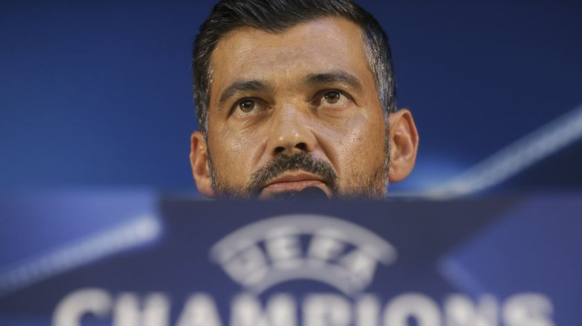 Sérgio Conceição promete um Porto ambicioso frente ao Besiktas