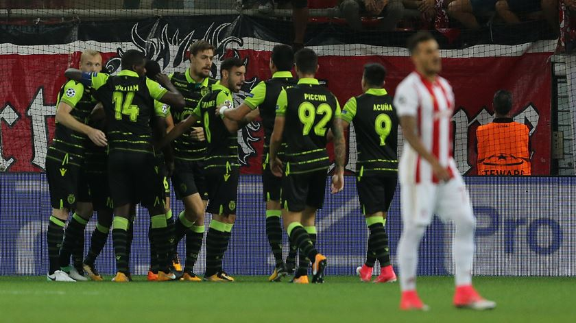 Sporting entra a ganhar na Liga dos Campeões. Recorde o relato da estreia