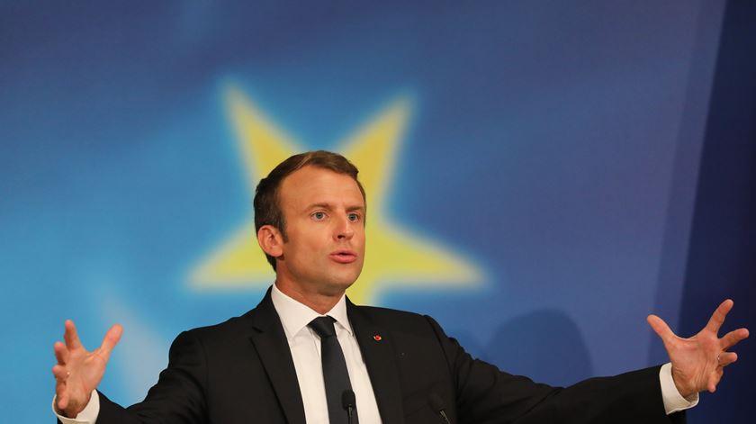 O Reino Unido que se vai e a refundação da UE segundo Macron