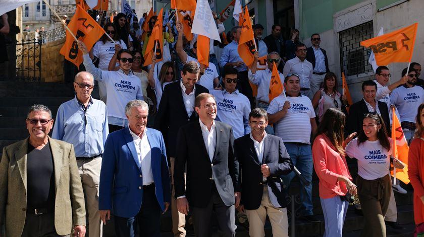 Reportagem de Paula Caeiro Varela com o PSD em Coimbra