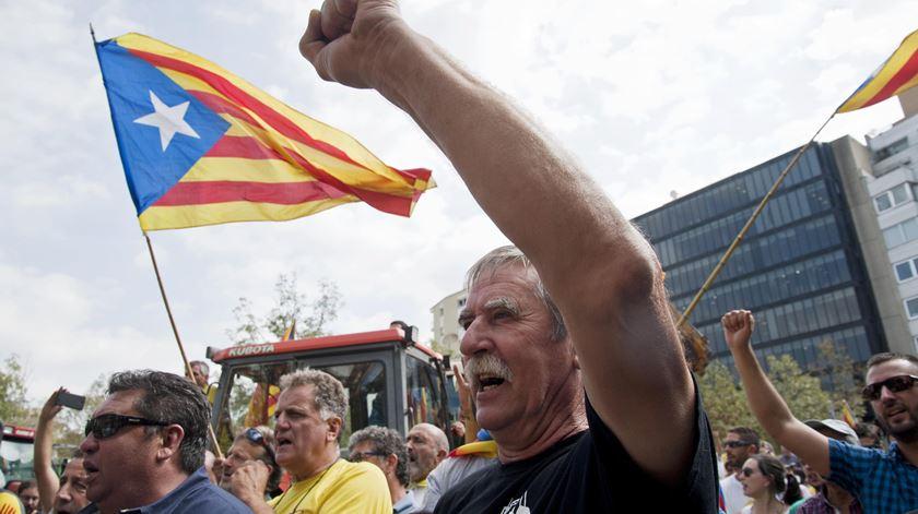 Violência policial e 761 feridos em dia de Referendo — Catalunha