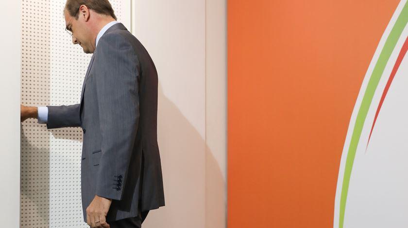 """PSD teve um """"dos piores resultados de sempre"""" na sua história. Passos Coelho admite não se recandidatar a novo mandato no partido. Foto: Foto: Miguel A. Lopes/Lusa"""