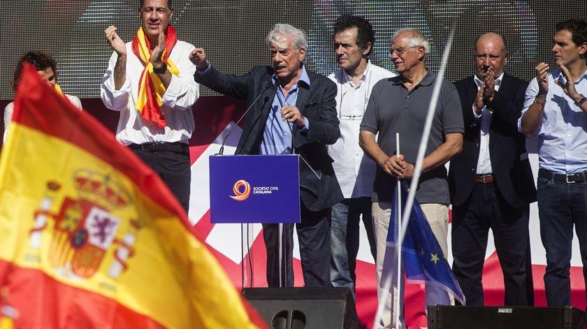 O manifesto de Vargas Llosa pela unidade de Espanha