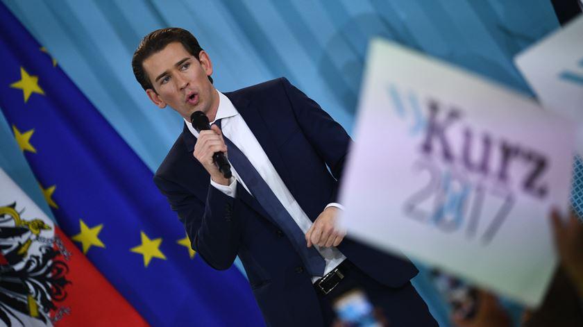 Áustria elegeu o mais novo chanceler de sempre