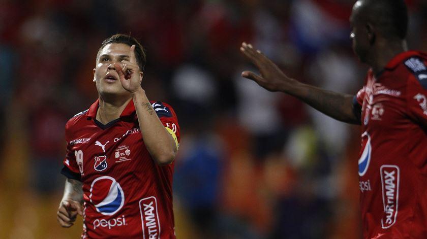 Quintero foi o melhor marcador do Independiente. Foto: EPA