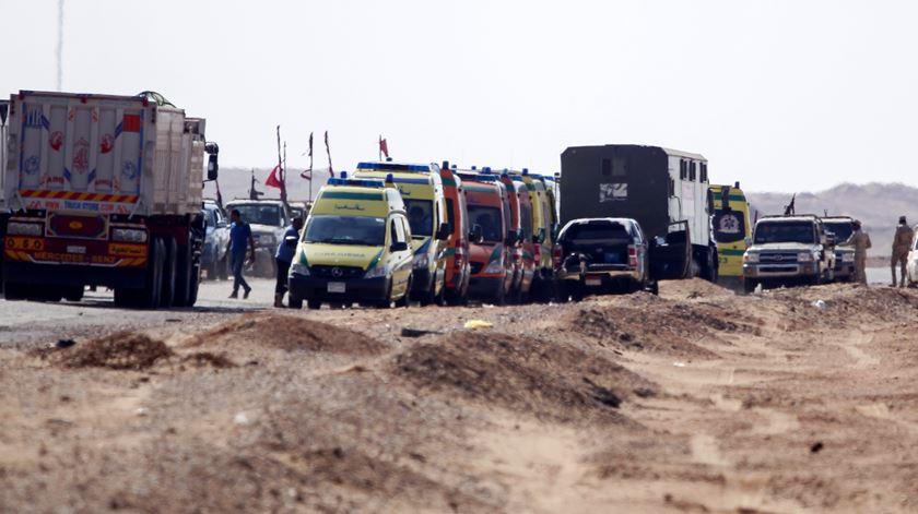 Tiroteio faz 55 mortos no Egipto