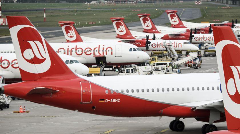 Air Berlin. Foto: Clemens Bilan/EPA