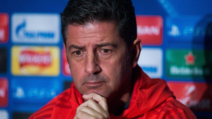 Rui Vitória pede reflexão sobre o momento do futebol português