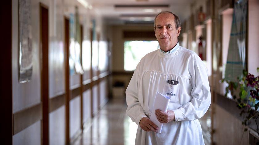 Fernando Maltez, diretor do Serviço de Infecciologia do Curry Cabral. Foto: Joana Bourgard/RR