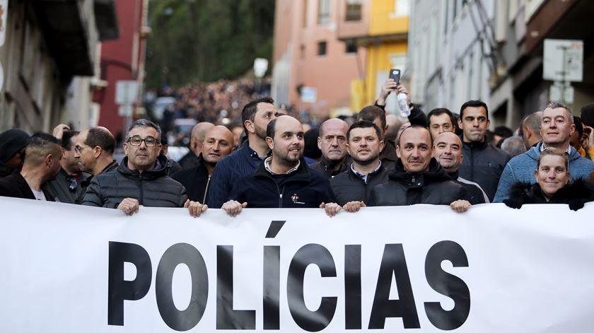 Polícias organizam encontro nacional para decidir protestos de 21 de janeiro
