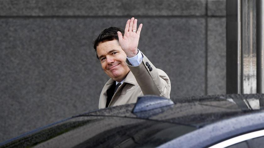 "Paschal Donohoe é o novo presidente do Eurogrupo. ""Estou consciente que os europeus voltaram a ter medo do futuro"""