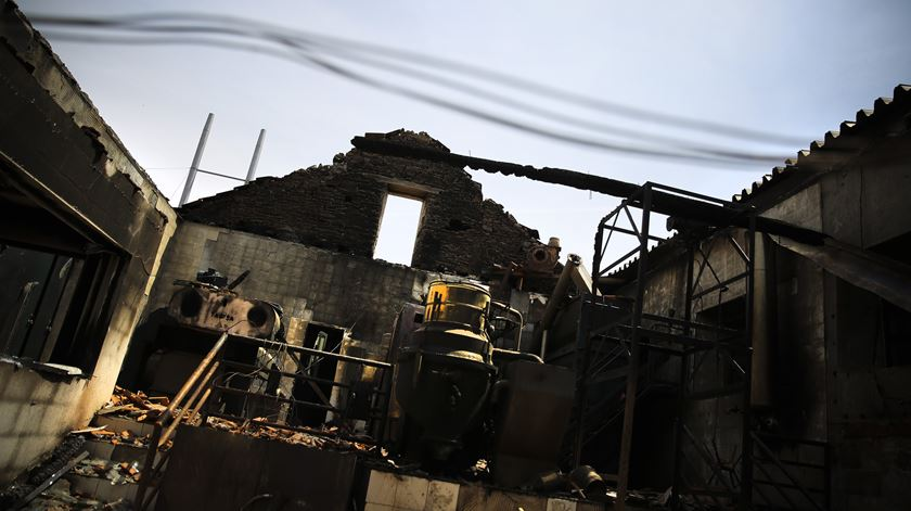 Governo já fez as contas à destruição em Pedrógão Grande. Foto: Joana Bourgard/RR