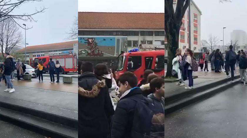 Susto em secundária do Porto. Bombeiros alertados para fuga de gás