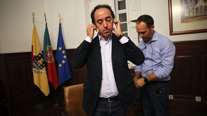 Rui Ladeira, presidente da Câmara de Vouzela