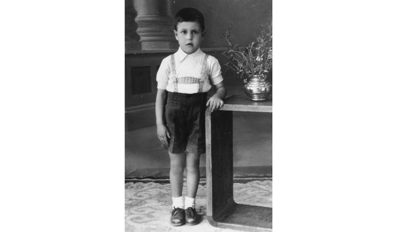 D. António Marto aos 5 anos. (Fotografias cedidas pela família)