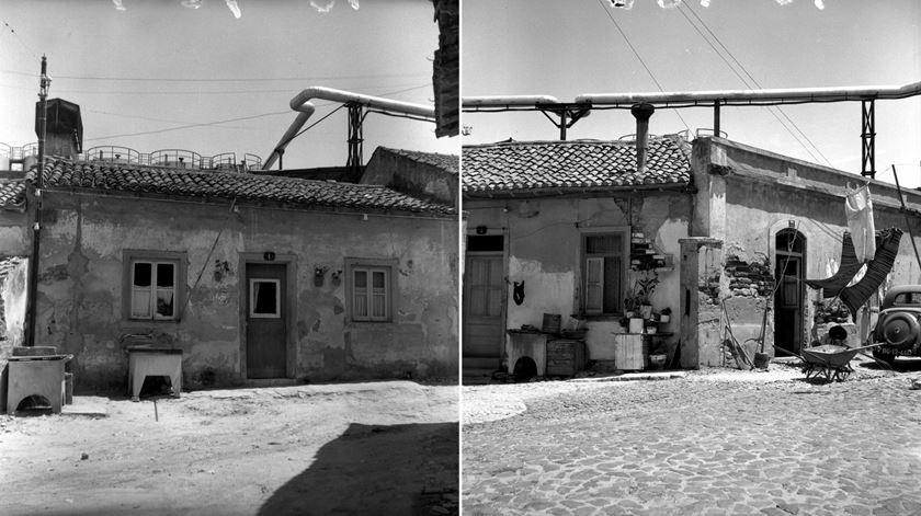 Rua da Centieira em 1966. Foto: Arquivo Fotográfico de Lisboa