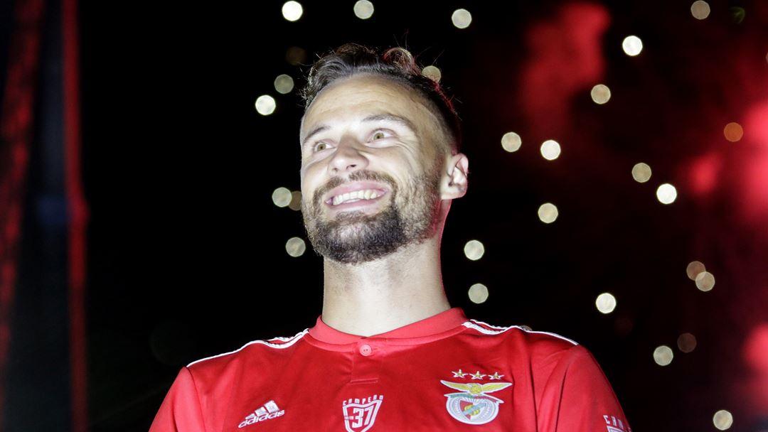 Seferovic conquistou o título de melhor marcador da I Liga, com 23 golos marcados. Foto: Joana Gonçalves/Renascença