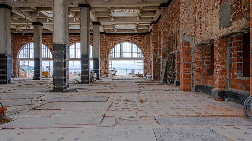 Projecto de reabilitação da Estação Sul e Sueste. Foto: Josefa Searle