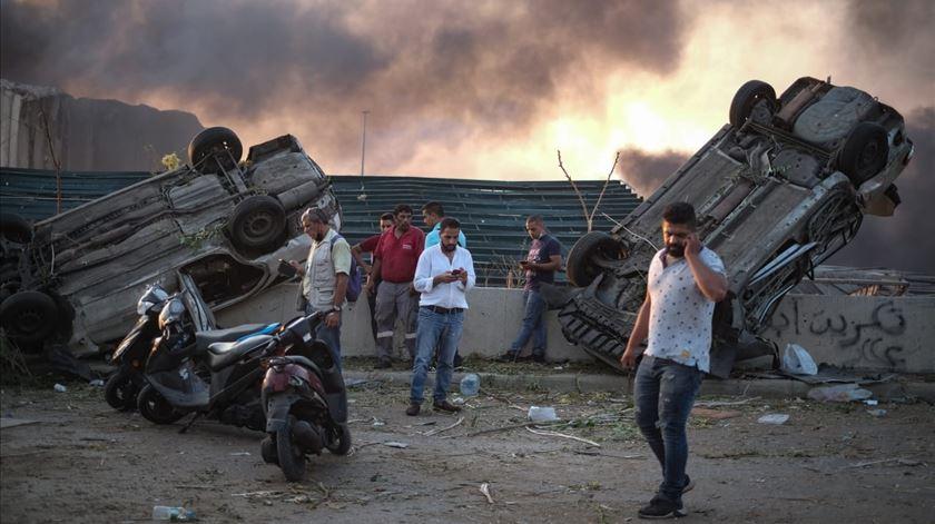 Beirute. Pelo menos 22 capacetes azuis do Bangladesh e Itália entre os feridos