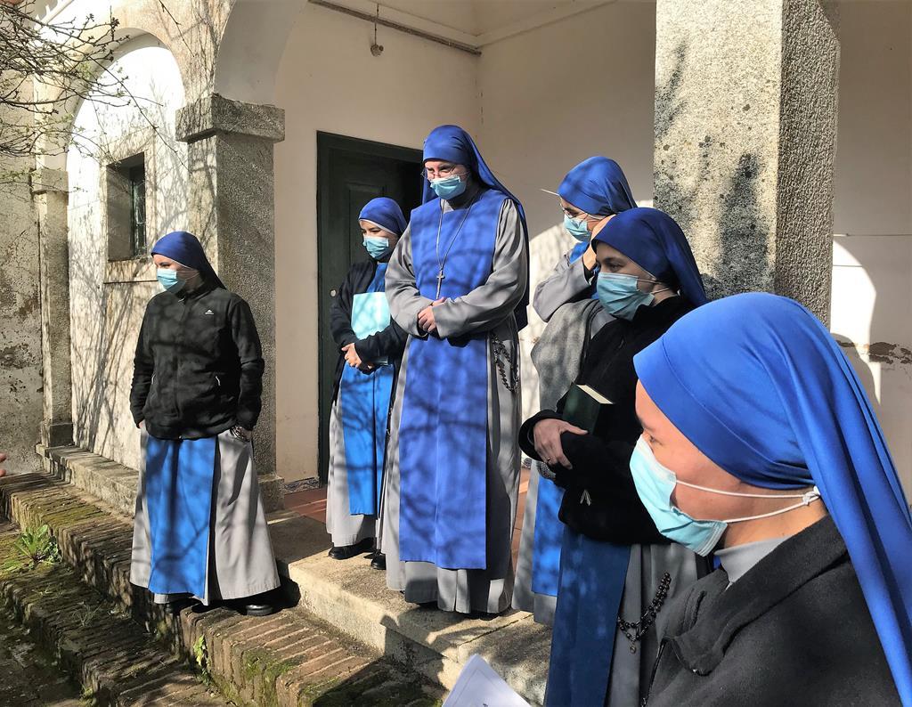 Comunidade monástica conheceu a sua nova casa. Foto_Rosário Silva