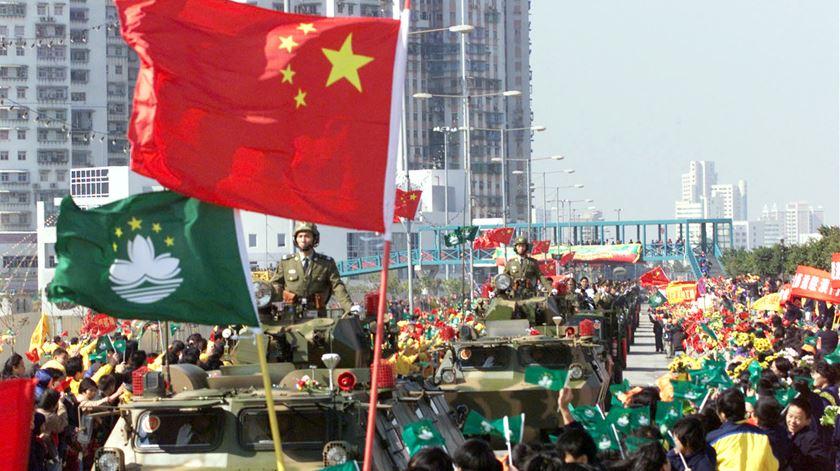 """20 anos da devolução de Macau, """"um país, dois sistemas"""""""