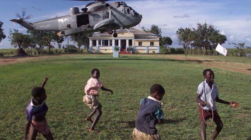 Missão Beira. Projeto de voluntariado para ajudar orfanato volta a Moçambique