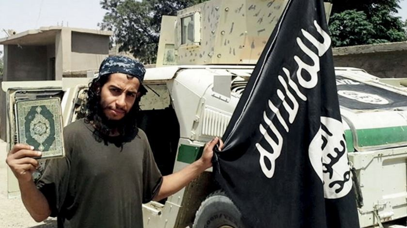 Foto do belga Abdelhamid Abaaoud,